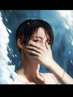Jimin Fanart, Taehyung Fanart, Kpop Fanart, Jikook, Les Bts, Foto Jimin, Amazing Drawings, Bts Drawings, Fake Love