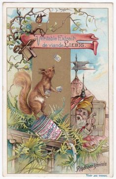 1898. The Kingdom of the Gnomes trading card issued by Liebig Extract of Beef Company. S590.