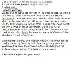 Wonderful Amazon review!
