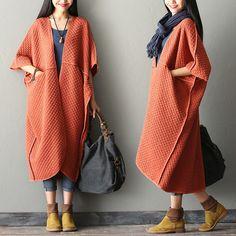 Bat sleeve coats, loose coats (N148) from Fashion Sky by DaWanda.com