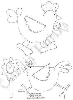 Applique isn't my thing, but these sure would be cute on a small quilt.or table runner . Applique Templates, Applique Patterns, Applique Designs, Quilt Patterns, Embroidery Designs, Sewing Patterns, Quilting Designs, Owl Templates, Applique Ideas
