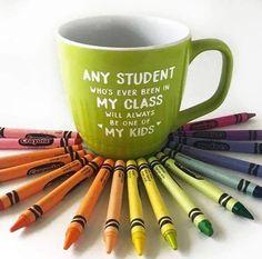 My students my kids semantics. Grab the mug at BoredTeachers.com!