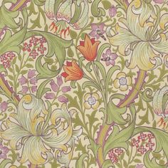 Wallpaper, Morris and Co