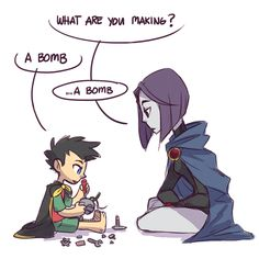 Dc memes and other – Damian art – Baby Utensils Ideas Teen Titans Raven, Teen Titans Go, Teen Titans Fanart, Teen Titans Funny, Math Comics, Marvel Dc Comics, Beast Boy, Young Justice, Nightwing
