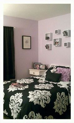 My Lavender bedroom, designed by Michelle Roy