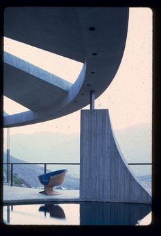 elrod house, john lautner, palm springs, 1968