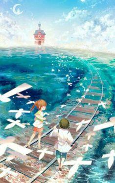 Sen to Chihiro no Kamikakushi (Spirited Away) Image - Zerochan Anime Image Board Wallpaper Animes, Images Wallpaper, Animes Wallpapers, Soft Wallpaper, Hayao Miyazaki, Totoro, Art Studio Ghibli, Studio Ghibli Movies, Otaku Anime