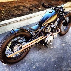Bobber Inspiration | Honda bobber motorcycle | Bobbers and Custom Motorcycles