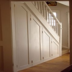 How to build a closet under a staircase