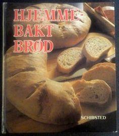 Brita Olsson, Lillemor Hvitfeldt Wallentinsson og Eva Högdal  HJEMMEBAKT BRØD  Hvordan lager man brød med surdeig, skonrokker, knekkebrød, lefser eller croissanter? Svarene er i denne boken. Croissant, Bagel, Bread, Brot, Crescent Roll, Baking, Breads, Crescent Rolls, Buns
