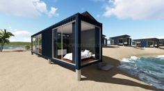 Deluxe Ocean View Modular Prefabricated 40feet Shipping Container House