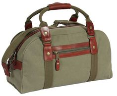Canvas Weekend Bag from Dirt Road Luggage