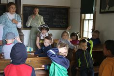 Back to School in Railroad Town returns to Stuhr Museum Saturday and Sunday. Kids can experience school life in the 1890s with etiquette, recess and more. It's a great weekend trip before school starts for real. More info is available at stuhrmuseum.org.