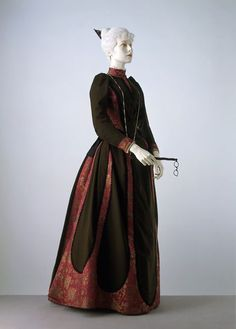 Day Dress by Charles Frederick Worth, 1889