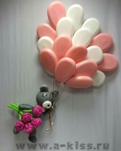 Balloon Arch Diy, Ballon Decorations, Balloon Delivery, Hello Kitty Birthday, Party Hacks, Balloon Animals, Baby Shower Balloons, Valentines, Crafty