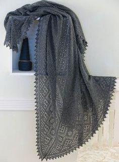 An Orenburg Warm Shawl to Knit - Media - Knitting Daily