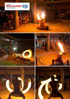 Our Knife, Fire and South Pacific Island show is spectacular - COME SEE!