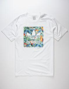 ADIDAS Blackbird Toucan Mens T-Shirt size L