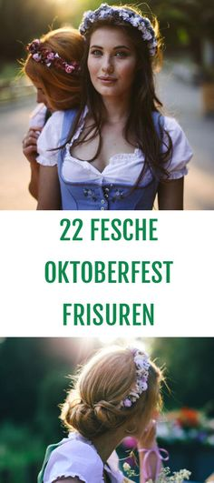 Oktoberfest Hairstyles Off to the Oktoberfest! The most beautiful hairstyles for the Oktoberfest 2016 – plaited over. - All About Hairstyles Hair Styles 2016, Curly Hair Styles, Diy Hair Waves, Oktoberfest Hair, Diy Tresses, New Hair, Your Hair, Braided Hairstyles, Cool Hairstyles