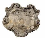 Lot No. 654 Large baroque sandstone relief, century, depicting the fall of Saint Nepomuk from the Charles bridge into the river Moldau. Baroque, Renaissance, Gothic, Sculptures, Lion Sculpture, Charles Bridge, Art Furniture, 17th Century, Porcelain