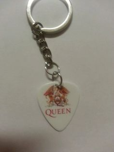 Queen Rock Band Keychain