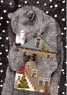 Liekeland bear house hug