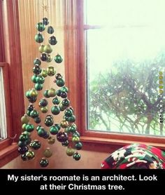 Architects design of a Christmas