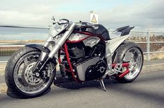 Yamaha MT-01 Barbarian ~ Return of the Cafe Racers. Ain't gonna lie...this is a cafe bike I'd ride!