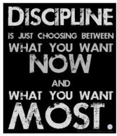delayed sense gratification is the key