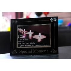 Frame Cermin 6 x 4  Capture your favourite moment in this beautil frame.