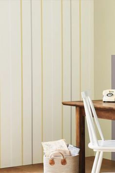 Ochre Multistripe Wallpaper from Next Next Uk, Sweet Home, Curtains, Bedroom, Wallpaper, Stuff To Buy, House, Ideas, Home Decor