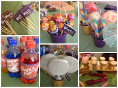 Vintage Follie: Charlie and the Chocolate Factory Party The Chocolate Touch, Chocolate Party, Charlie Chocolate Factory, Great Lunch Ideas, 1st Birthday Parties, Birthday Ideas, Willy Wonka, Roald Dahl, Candy Making