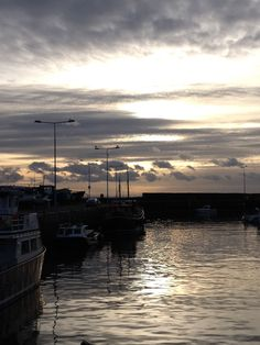 Calm evening in Anstruther