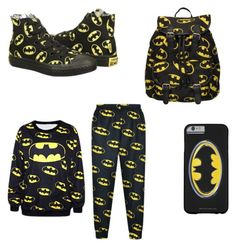 """""""Batman """" by yarinelly ❤ liked on Polyvore"""
