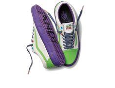 Vans Disney Pixar Toy Story Buzz Lightyear Old School Shoes Mens US Size 12