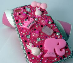 Girl pink iphone case barbie par Edenka sur Etsy, $40,20