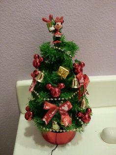 Cute mini disney Christmas tree