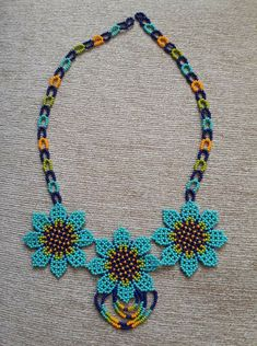 Crochet Necklace, Chokers, Beads, Jewelry, Handmade Necklaces, Stud Earrings, Necklaces, Drawings Of Eyes, Jewels