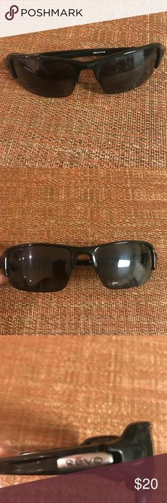 e058c224dfc Shop Men s Revo Black size OS Glasses at a discounted price at Poshmark.  Minor scratches on the glass.
