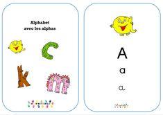 Alphabet en 3 écritures avec les alphas – MC en maternelle