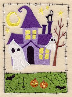 Ghostly Manor Medley design (D2215) from www.Emblibrary.com