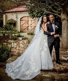 Mafikizolo's Theo ties the knot despite the Covid-19 lockdown limitations in the country, just to show that love concurs all.Theo took to his African Bridesmaid Dresses, African Wedding Dress, Wedding Dresses, Celebrity Couples, Celebrity Weddings, South African Weddings, Tie The Knots, Newlyweds, Getting Married