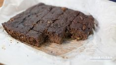 Very Easy Healthy Brownies (Gluten Free and Lactose Free)
