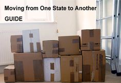 How to move from one state to another - this guide will offer you tips for an efficient, successful and smooth interstate relocation.