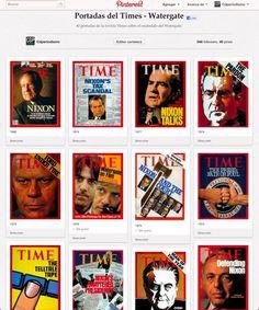 El escándalo del Watergate sacudió los medios estadounidenses, el periodismo en general, la política, el mundo.  A 40 años de este acontecimiento recogimos las portadas que la revista Time dedicó al tema y las llevamos a nuestro sitio en Pinterest.