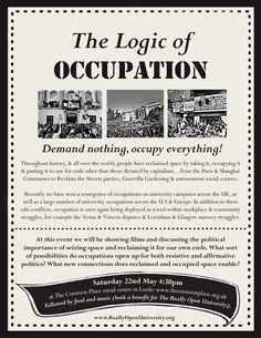 logic of occupation
