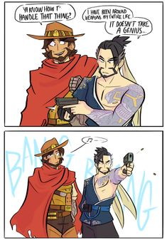 """dilfosaur:  """" don't give hanzo a gun  (confession this is based on my own experience, be wary of combining bullet shells and open shirts kids)  """""""