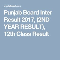 BISE Punjab Board Inter Result 2017 is not announced yet. The expected date of Intermediate Result of Punjab Board is 12-September-2017. Stay Tuned