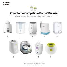 We get asked this question a lot: Which bottle warmers are compatible with Comotomo bottles?  Here are a few of our favorites (in no particular order.) Which ones do you recommend?