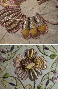 An example of embroidery in the Netherlands, with time lapse video of process.